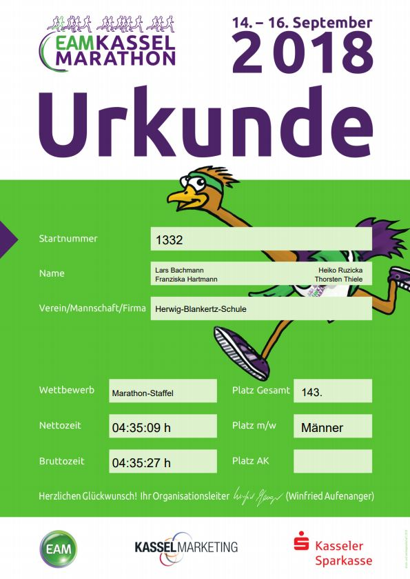 2018 Urkunde Mixed